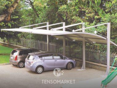 carport auto tettoia antigrandine