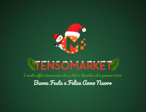 Buon Natale 2019: chiusura Tensomarket per festività