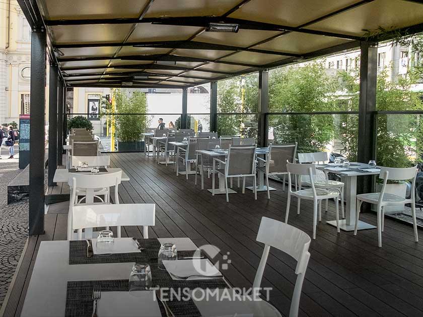 Arredo Urbano Bar Esterno.Dehors Per Bar E Ristoranti Dehor Esterni Tensomarket