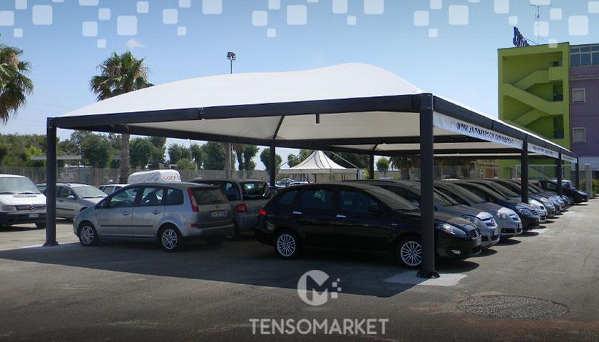 gazebo auto prezzi caratteristiche