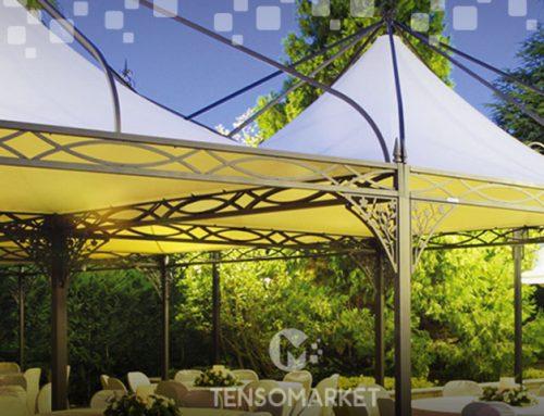Gazebo per bar e ristoranti: le migliori coperture Tensomarket