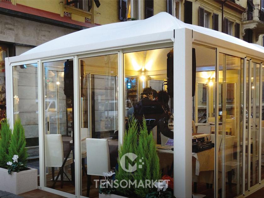 Vendita Gazebo Per Bar.Gazebo Esterno In Ferro Cicogna Max Pesante Gazebo Cicogna