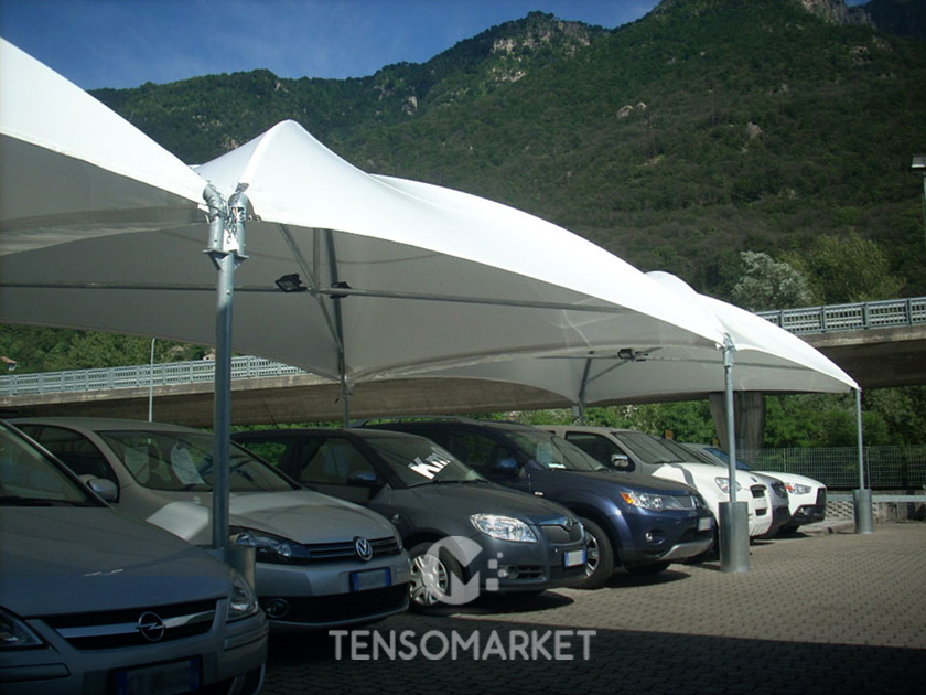 Gazebo Professionale E Tendone Per Auto Cicogna Light