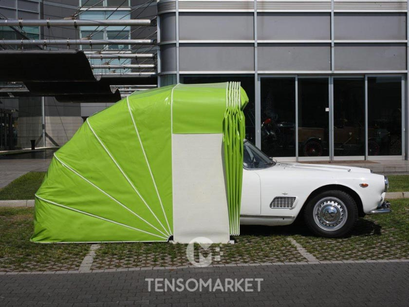 tenda garage box auto