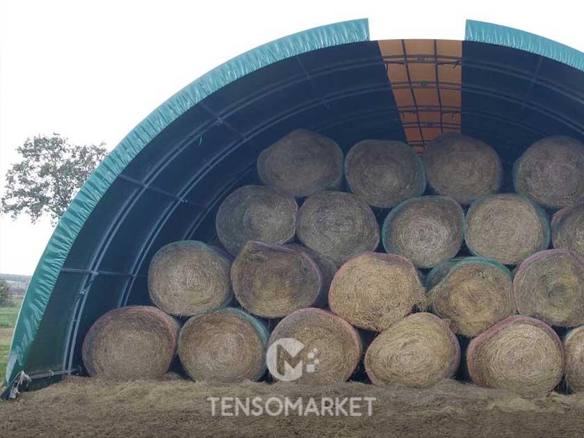 tunnel pvc per fieno