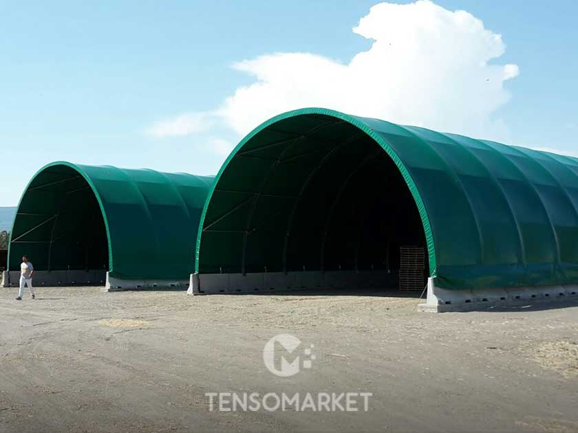 Tunnel pvc agricolo